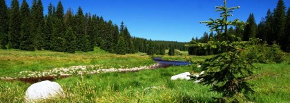 Šumava chalupy víkend na horách