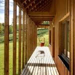 Chalupy k pronájmu na Šumavě - krytá terasa